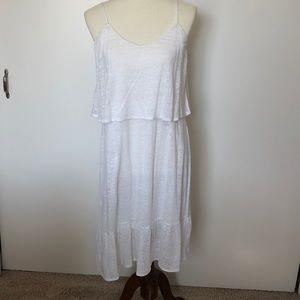 NWT White Dress - L